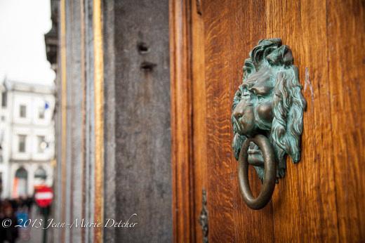 Brussels apartment door