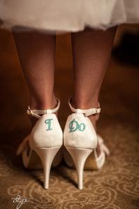 Cutest wedding shoes!