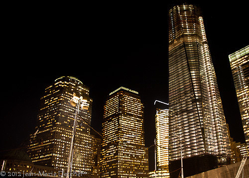 Architecture in New York City at the World Trade Center Site
